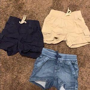 Baby GAP shorts. 3-6 months